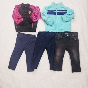 Old navy Lot baby girl  5pc